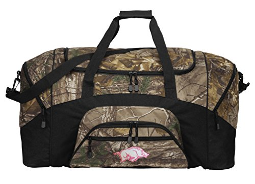 Ladies Arkansas Duffel Bag Girls Razorbacks Duffle Bag