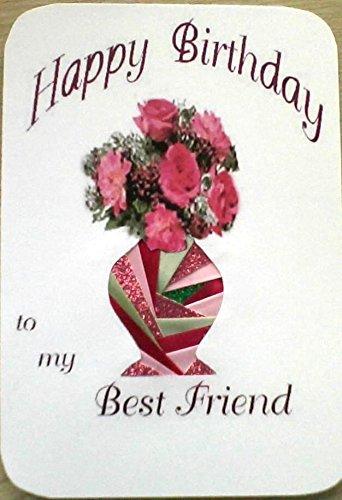 Amazon Happy Birthday Best Friend Card Original Design