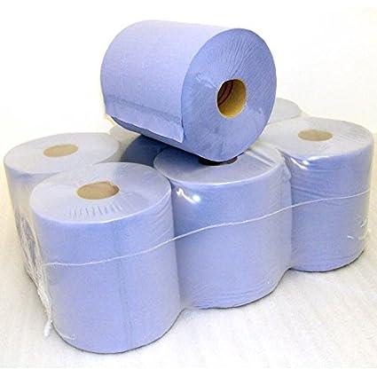 Rollos de papel de centro de 6 toallas de mano Z-Fold paquetes de 3000