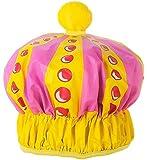 Queen of the Bathroom Bath & Shower Cap / Swim Cap Crown by NPW