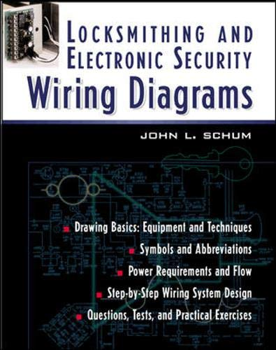 Locksmithing and Electronic Security Wiring Diagrams: Amazon ... on
