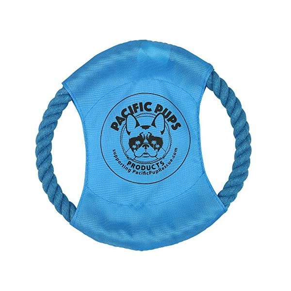 Pacific Pups Products supporting pacificpuprescue.com dog rope toys for aggressive chewers-set of 11 nearly indestructible dog toys-bonus giraffe rope toys-benefits non profit dog rescue. 3