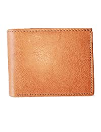 ASHLIN RFID Genuine Leather Men's Bifold Wallet- Card Holder, Currency Compartment