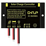 SUNER POWER Solar Charge Controller - IP68 Waterproof Solar Panel Regulator Dust to Dawn Light Control - Perfect 12V 24V SLA, Gel, Flood, Deep Cycle, Marine Battery, etc.