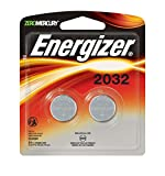 #6: Energizer Watch/Electronic Batteries, 3 Volts, 2032, 2 batteries (Lithium Button Cell)