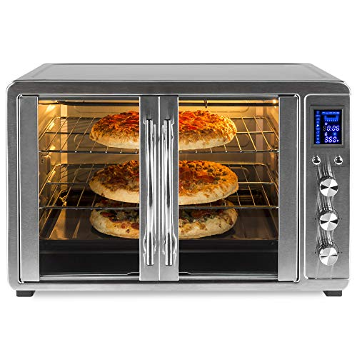 Best Choice Products 55L 1800W Extra Large Countertop Turbo Convection