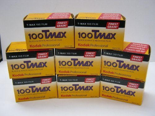 8 Rolls Kodak T-Max 100 TMX 36 Exp Black & White Negative Film Tmax 100 135-36 Fresh 2015
