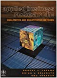 img - for Applied Business Research: Qualitative and Quantitative Methods book / textbook / text book