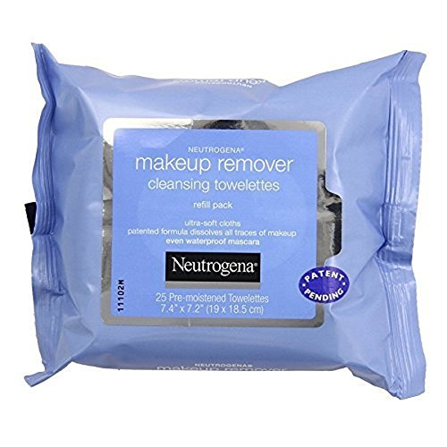 Amazon.com : Neutrogena Make-Up Remover Cleansing Towelettes Refills 25 Each (Pack of 5) : Beauty