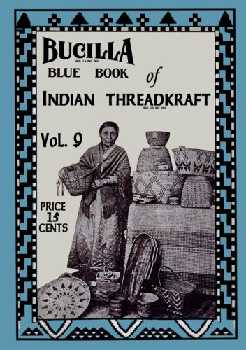 Basket Pattern Crochet (Bucilla Blue Book #9 c.1917 - Crochet Patterns Native American Baskets)