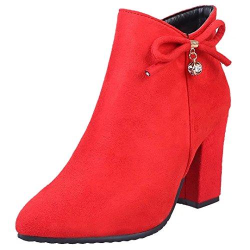 AIYOUMEI Women's Classic Boot AIYOUMEI Boot Women's Women's Classic Red AIYOUMEI Classic Red rqRrEwx7