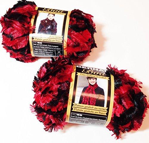 Boa Yarn-Cardinal