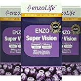 Supports Eye Health – Super Vision Bilberry Extract 60Capsule New-Zealand (3 Bottle)