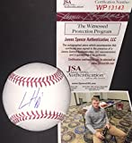 Ian Happ Chicago Cubs Autographed Signed Baseball JSA WITNESS COA Z