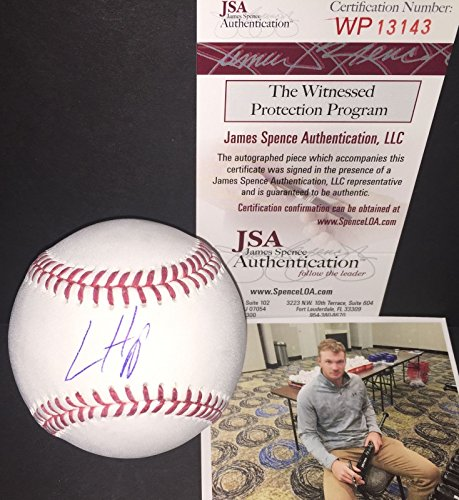 Ian Happ Chicago Cubs Autographed Signed Baseball JSA WITNESS COA Z ()
