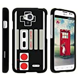 MINITURTLE Case Compatible w/ LG Optimus L70 , 2 Piece Hard Snap On Case + Screen Protector Film + Black LG Ultimate 2 Game Controller For Sale