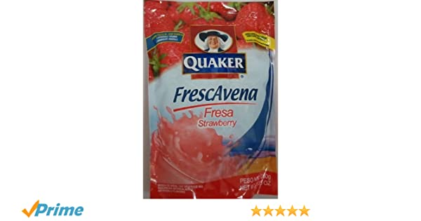 Amazon.com: Goya Foods Frescavena Strawberry Flavor, 11.1-Ounce: Oatmeal Breakfast Cereals
