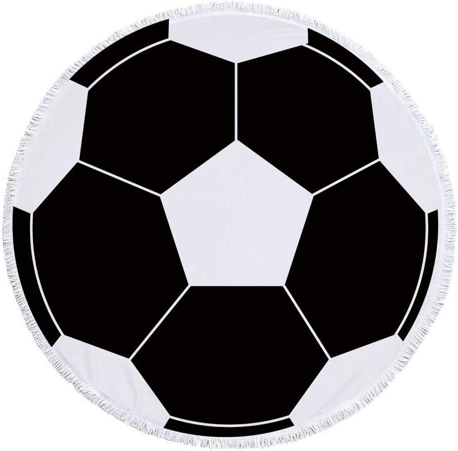 Toalla Playa Microfibra Anti-Arena 59 Pulgadas Fútbol Impresión ...