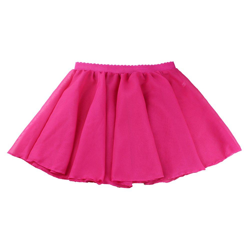 Toomett Girls Dance Ballet Basic Classics Chiffon Wrap Skirt #1075