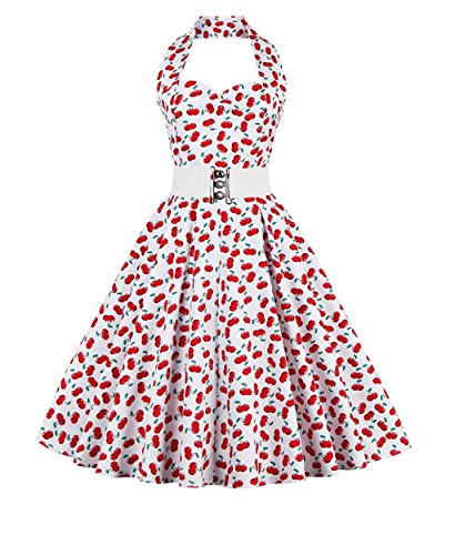 zaful-womens-50s-vintage-polka-dots-halter-swing-dress-party-gown-with-belt-2xl-cherry-floral-white-