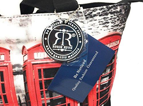 Robin Londra rosse per Borsa Scatole acquisti telefoniche Ruth RRUwx5AIqr