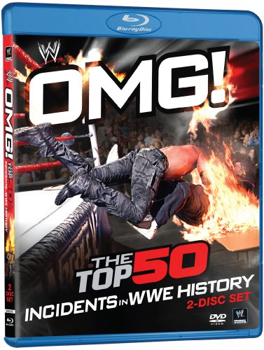 WWE: OMG! The Top 50 Incidents in WWE History [Blu-ray]