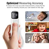 Unifandy Infrared Thermometer Ear and Forehead