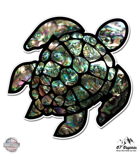 - GT Graphics Sea Turtle Natural Shell Texture - 12
