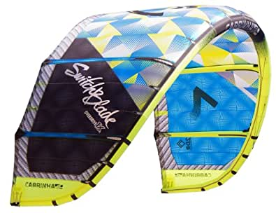 Cabrinha Switchblade Kitesurf Kite 2014 - Blue Yellow 12M No Thanks