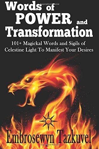 WORDS POWER TRANSFORMATION Magickal Celestine product image