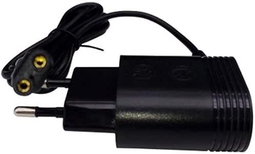 Eruditter - Adaptador de Cargador de batería Xuniu de 2 Pines para afeitadora Philips HQ8505 / 6070/6075/6090: Amazon.es: Hogar