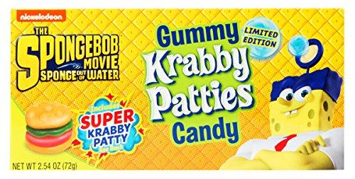 Gummy Krabby Patties Candy - 2.54 oz Box
