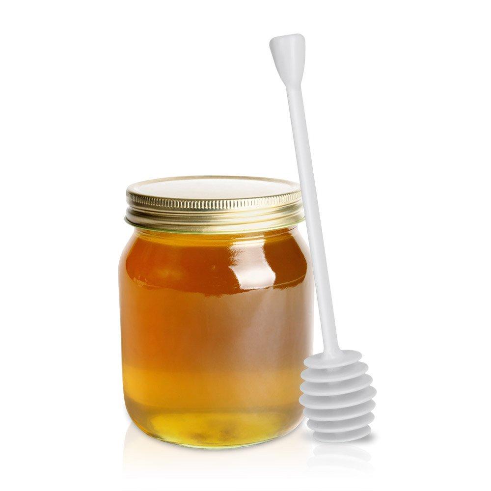 Metaltex Honey Dipper, White, 15 cm 258303