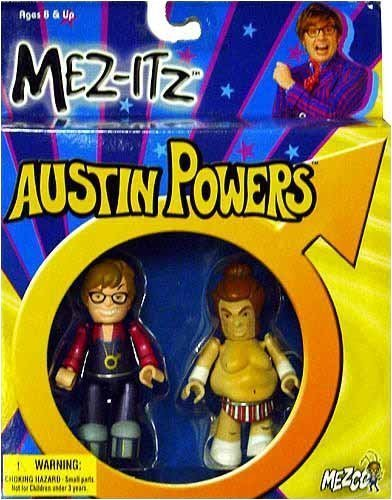 Austin Powers and Fat Bastard 3 inch Mez-Itz by Mezco ()