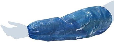 200 pz AQASKIN Coprimaniche Monouso in CPE Colore Blu. Manicotti Sopramaniche 2000 pz 400 pz Quantit/à 100 pz 1000 pz Copribraccia USA e Getta