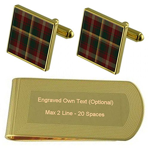 Tartan Engraved Tartan Gold Clip Money Canada Canada Tone National 7dT7q
