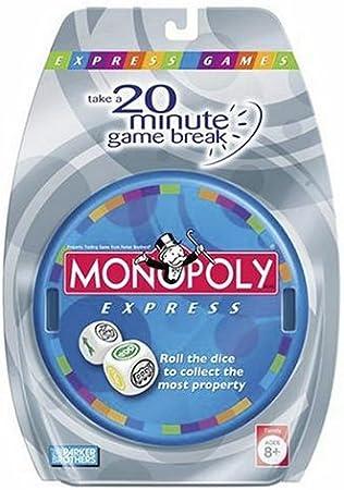 Monopoly Express by Hasbro: Amazon.es: Juguetes y juegos