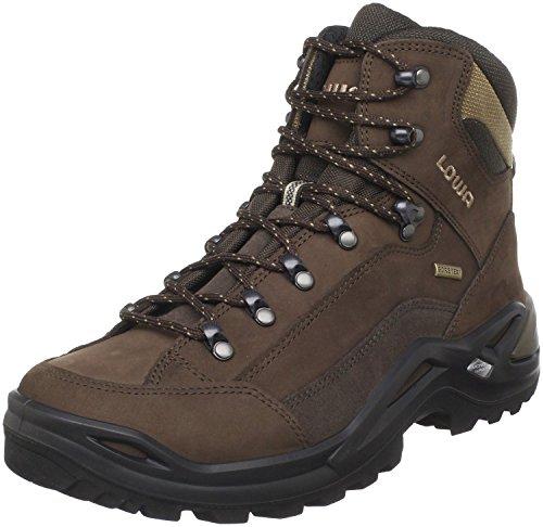 Lowa Men's Renegade GTX Mid Hiking Boot,Expresso/Brown,8.5 M