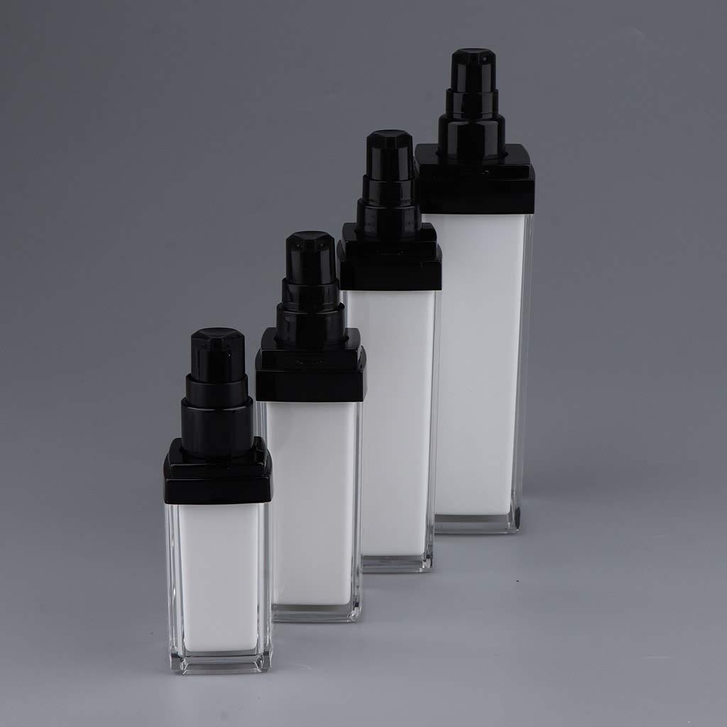 9728c4058f63 Amazon.com : Fityle Empty Refillable Acrylic Pump Press Bottle ...