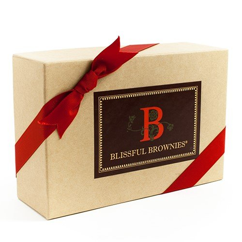 Blissful Brownies in Gift Box - Peanut Butter (15 ounce)