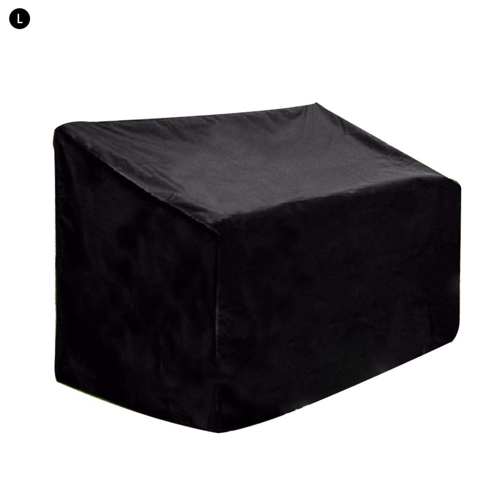 Leiyini Patio Bench Cover Dustproof Waterproof Bench Seat Cover Universal Protective Cover Outdoor Furniture Cover