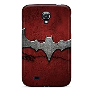 Awesome Batman 2 Logo Flip Case With Fashion Design For Galaxy S4