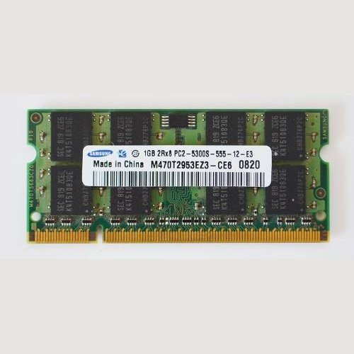 (Samsung PC2-5300S M470T2953EZ3-CE6 1GB DDR2 Memory for Samsung Laptop.)
