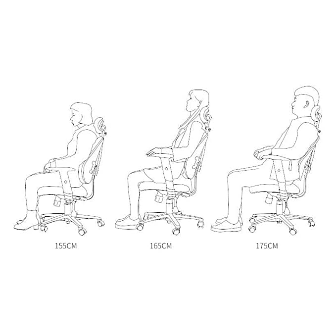 Amazon.com: MMLI-Chairs Sedia da ufficio computerizzata ...