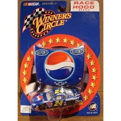 Jeff Gordon #24 Dupont Pepsi Monte Carlo 2001 1/64 Scale & Bonus Magnet 1/24 Scale Hood Winners Circle: Toys & Games