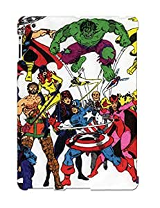 Awesome Avenger Cartoon In Flip Case With Fashion Design For Ipad 2/3/4