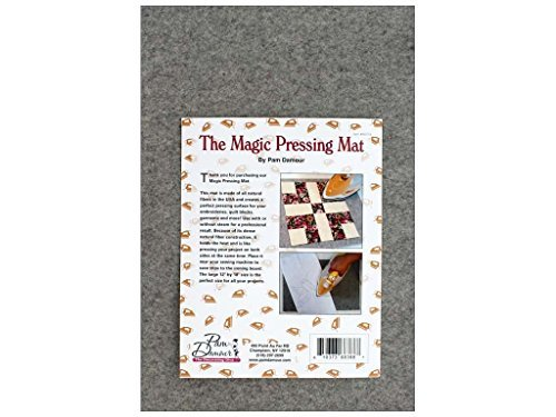 "Pam Damour The Decorating Diva – The Magic Pressing Mat 12""x 18"" x - Pad Pressing"