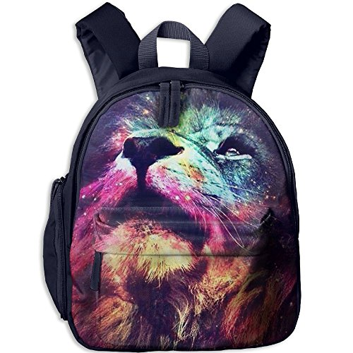 HYF Kids Rainbow Lion Snack Backpack Children Preschool Mini Rucksack Lunch Boxes Carry Bag ()