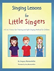 Written for teachers or parents of young children, Singing Lessons for Little Singers offers exciting songs and exercises based on proven pedagogical principles and healthy vocal technique for use in solo or group voice lessons. This revoluti...
