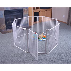 Regalo 192-Inch Super Wide Adjustable Baby Gate and Play...